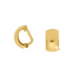Adelia´s Paar Ohrclips 333 Gold Ohrringe / Ohrclips, Goldschmuck für Damen