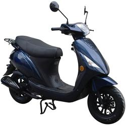 GT UNION Motorroller Matteo 45, 50 ccm, 25 km/h, Euro 5 blau