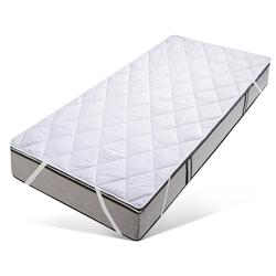 Matratzenauflage Tencelie my home, mit klimaregulierender TENCEL™-Faserfüllung, ideal für den Schwitzer