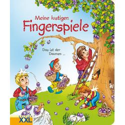 Meine lustigen Fingerspiele als Buch von