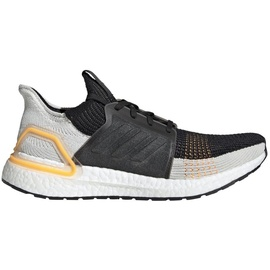 adidas Ultraboost 19 black-light grey-yellow/ white, 43.5