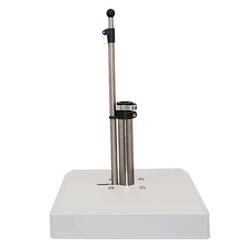 LiRo Alu-Vario 50-K Mobiler Schirmständer - Schnellspanner Weiß