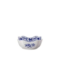 Hutschenreuther Schüssel Blau Zwiebelmuster Schüssel 20 cm eckig, Porzellan