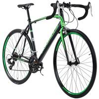 KS-CYCLING Rennrad 28'' Imperious schwarz-grün RH 59 cm