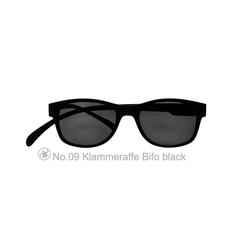 Sonnenbrille No.09 Klammeraffe SUN Bifokal black