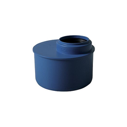 Abflussrohr Übergangsrohr DN 125/100, schallisoliert