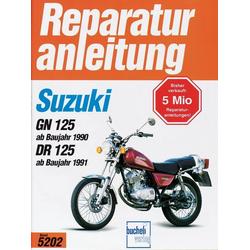 Suzuki GN 125 (ab Baujahr 1990) DR 125 (ab Baujahr 1991) als Buch von