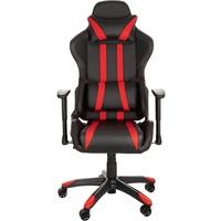 TecTake Premium Racing schwarz / rot
