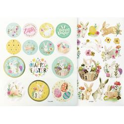 Folia Sticker Happy Easter, 38 Stück