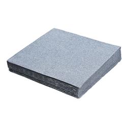 Servietten 33 x 33 cm 1/4 -Falz, 3-lagig silber,  20 Stk.