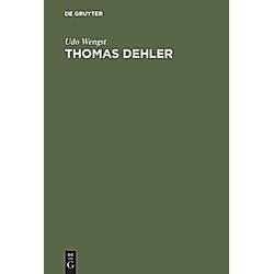 Thomas Dehler 1897-1967. Udo Wengst  - Buch