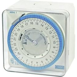 ORBIS Zeitschalttechnik MINI T QRS 230V Aufputz-Zeitschaltuhr analog 230 V/AC