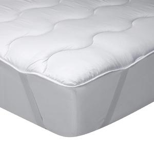 Classic Blanc - Topper / Matratzenauflage aus Fasern, mittel bis hart, Größe 180 x 200 cm, Höhe 3 cm, Bett 180