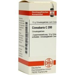CINNABARIS C 200 Globuli 10 g