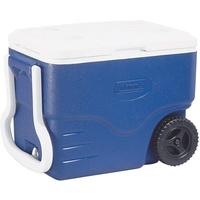 Coleman 40 QT Performance Wheeled Kühlbox blau/weiß
