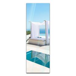 Bilderdepot24 Glasbild, Glasbild - Pool 30 cm x 90 cm