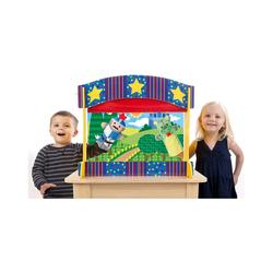 Melissa & Doug Puppenhaus Tisch-Puppentheater aus Holz