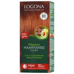 Logona Pulver 040 Flammenrot Haarfarbe 100g Damen