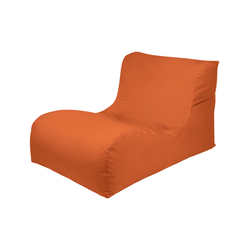 OUTBAG, Gartenliege New Lounge Plus, inkl. Auflage orange