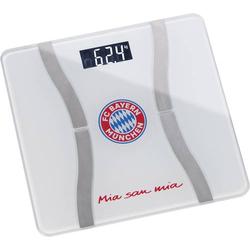 Körperanalysewaage Wägebereich (max.)=180kg Weiß, Rot Mit Bluetooth