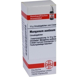 MANGANUM ACETICUM D 12 Globuli 10 g