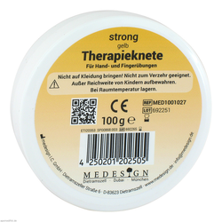 Therapieknete strong gelb 100 g