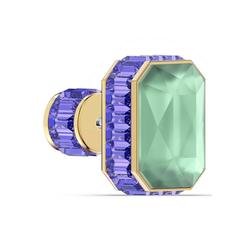 Swarovski Single-Ohrstecker Orbita Ohrring, Einzel, Kristall im Octagon-Schliff, 5600526, mit Swarovski® Kristall bunt