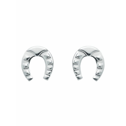 Adelia´s Paar Ohrhänger 925 Silber Ohrringe / Ohrstecker Hufeisen