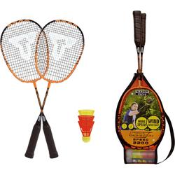 Talbot-Torro Badmintonschläger Badminton Set Speed 2200, orange