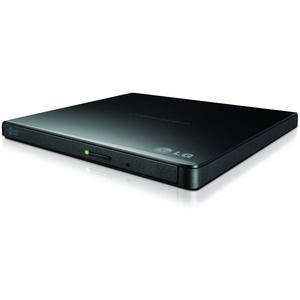 LG GP57EB40, Schwarz, Ablage, Desktop / Notebook, DVD Super Multi DL, USB 2.0, CD-R,CD-ROM,CD-RW,DVD+R,DVD+R DL,DVD+RW,DVD-R,DVD-R DL,DVD-RAM,DVD-ROM,DVD-RW