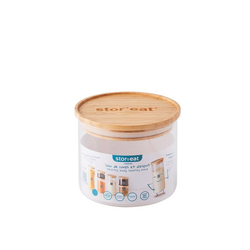 mastrad Vorratsdose StorEat 600 ml, Borosilikatglas, (1-tlg)