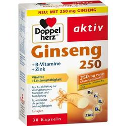 Doppelherz Ginseng 250 + B-Vitamine + Zink