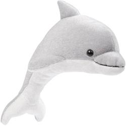 Delfin grau-weiß , ca. 23cm