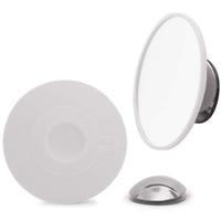 bosign Make-Up Spiegel-Badspiegel-Airmirror-abnehmbar, Silikon, Silber, 1
