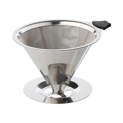 cilio Dauerfilter für Kaffee mit Standfuß