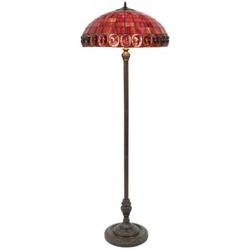 Casa Padrino Tiffany Stehleuchte / Stehlampe Ø 52 x H. 170 cm - Luxus Qualität