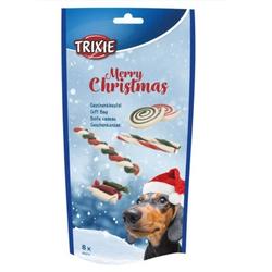 TRIXIE Xmas Geschenkbeutel, für Hunde 8 St