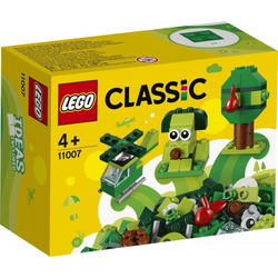 LEGO® Puzzle LEGO® Classic 11007 Grünes Kreativ-Set, Puzzleteile