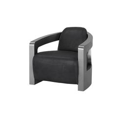 Sessel im Industriallook  Tyson ¦ grau ¦ Maße (cm): B: 76 H: 70 T: 85