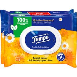 Tempo Feuchttücher Mein Verwöhnmoment Duo-Pack 2x 42 Tücher