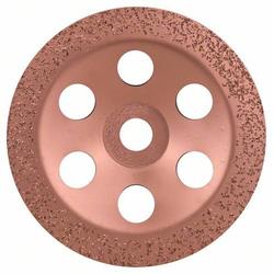 Bosch Accessories 2608600363 Hartmetalltopfscheibe, 180 x 22,23 mm, mittel, flach mittel, flach Ø 1