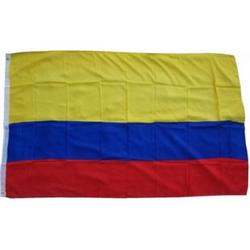 XXL Flagge Kolumbien 250 x 150 cm Fahne mit 3 Ösen 100g/m² Stoffgewicht