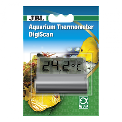 JBL Aquarium Thermometer DigiScan grau
