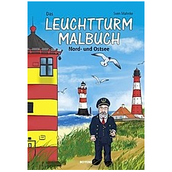 Das Leuchtturm-Malbuch
