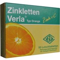 VERLA Zinkletten Verla Orange Lutschtabletten