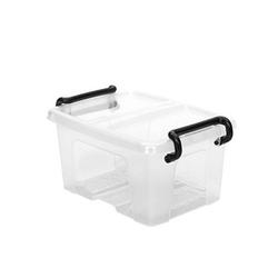 cep Aufbewahrungsbox 0,4 l transparent 12,5 x 9,8 x 6,7 cm