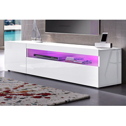 Tecnos Lowboard, Breite 155 cm weiß