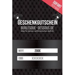 200  Gutschein per Mail