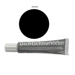 Hagos Dichtschnurkleber Hitzebeständiger Spezial Klebstoff 17ml schwarz