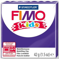 Modelliermasse Fimo Kids lila 42g